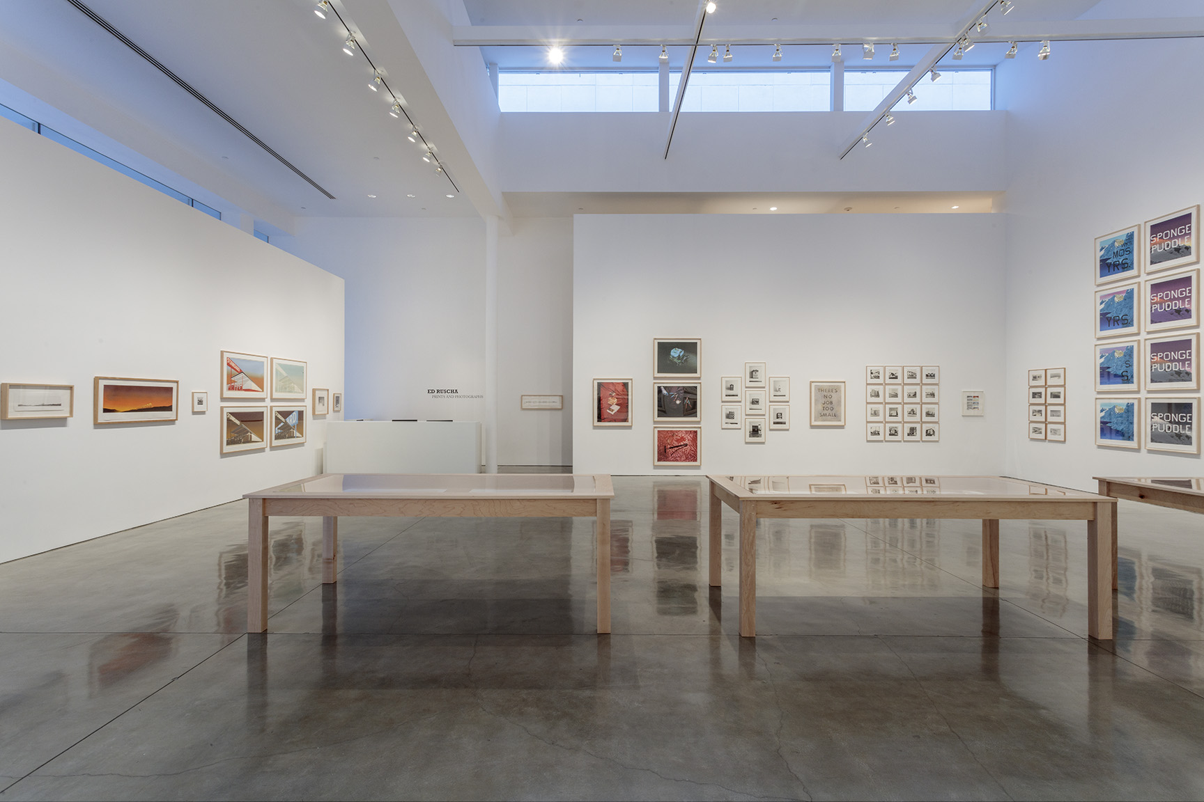 All artworks © Ed Ruscha. Courtesy of the artist and Gagosian Gallery. Photography: Josh White/JWPictures.com.