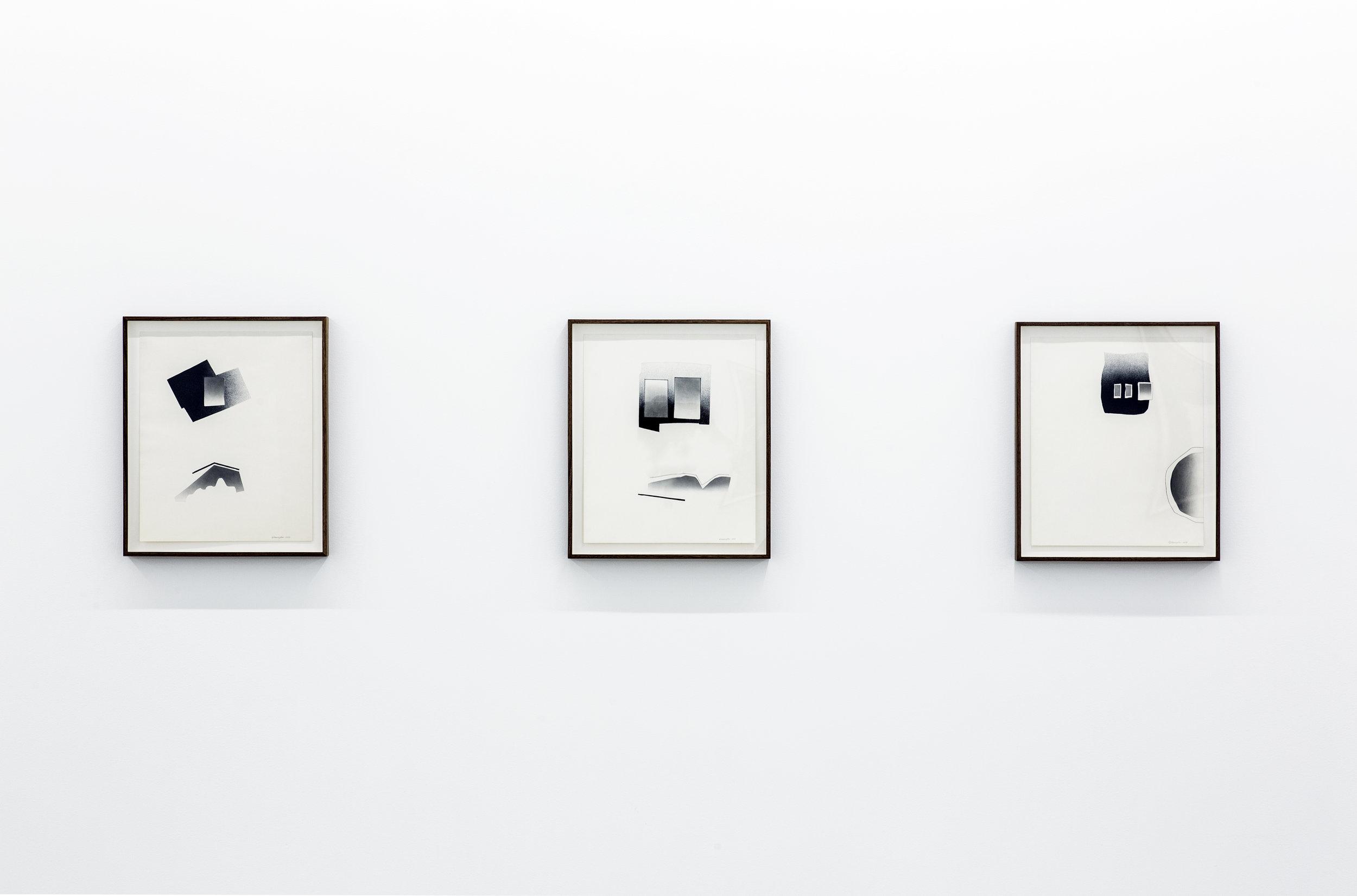 Deborah Remington  A Life in Drawing  , 1950 - 2006  Installation view Image courtesy Parrasch Heijnen Gallery