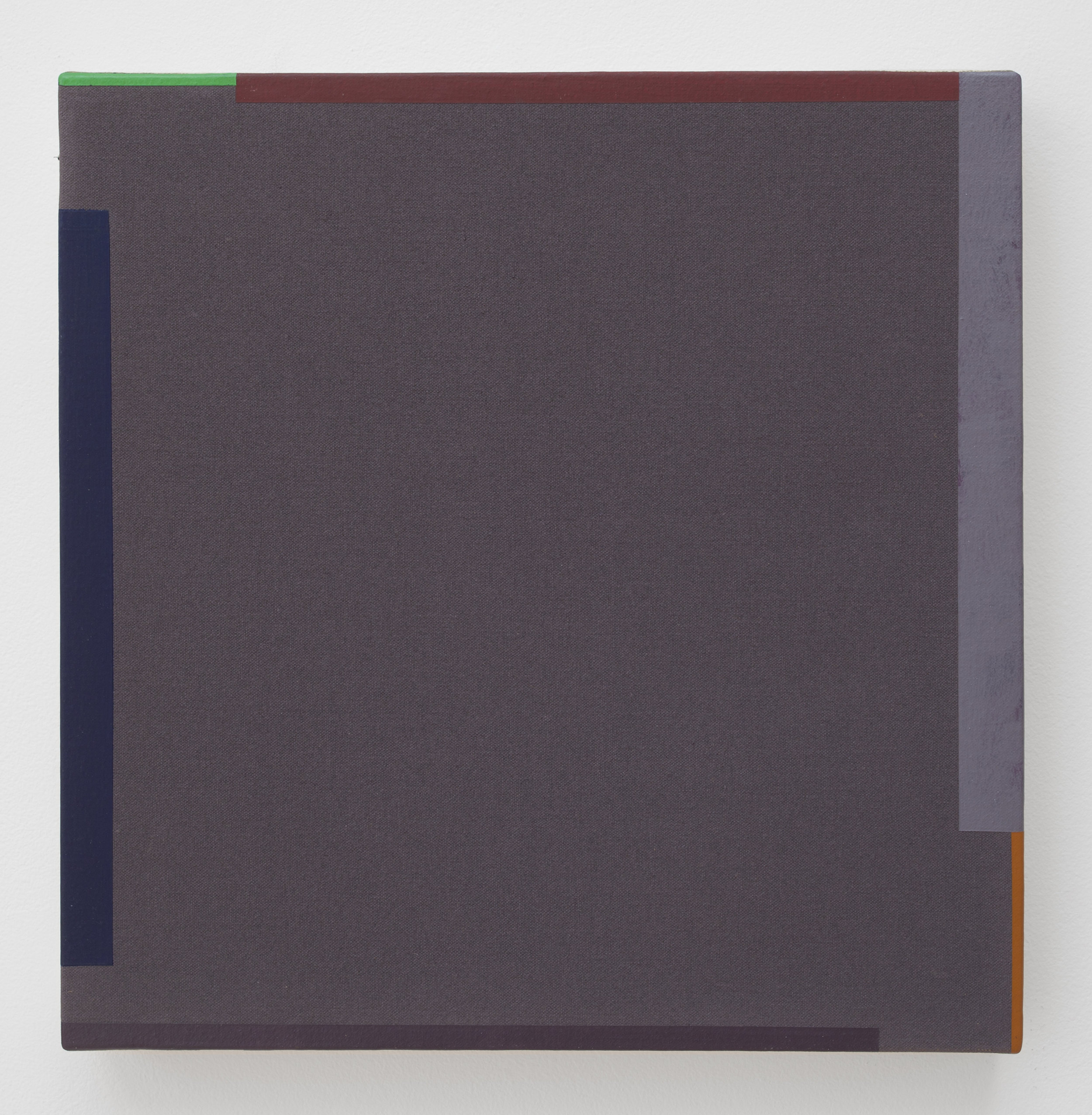 Untitled  (1976), acrylic on canvas, 14.5 x 14.5""