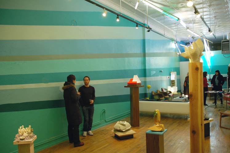 Laith Karmo  installation view, Design 99, Hamtramck