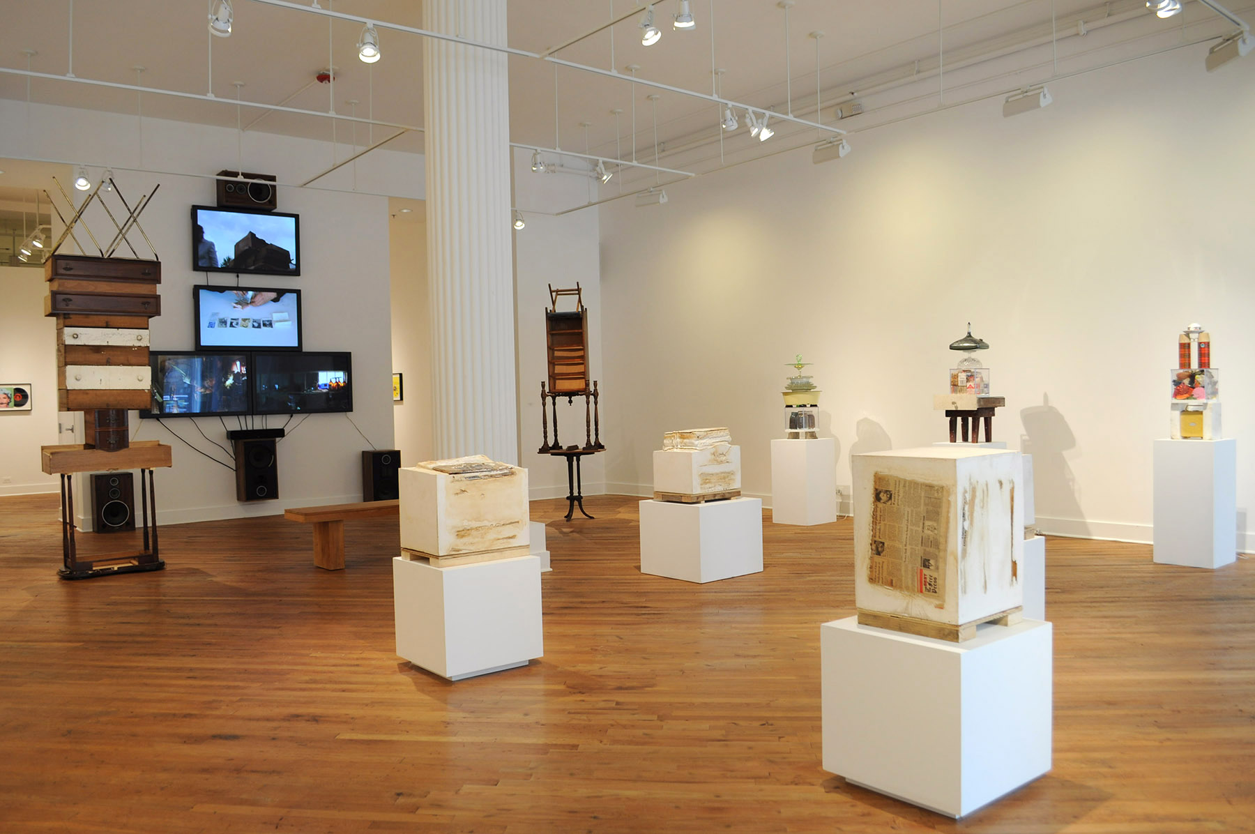 Organizational Strategies for the After Life , installation view, David Klein Gallery, Detroit