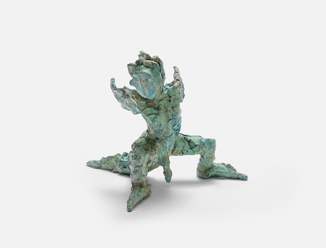Plonk , 1999, bronze, 25 × 28 × 28 cm(9.84 × 11.02 × 11.02 in) © Jonny Star, Photo: Jens Bösenberg