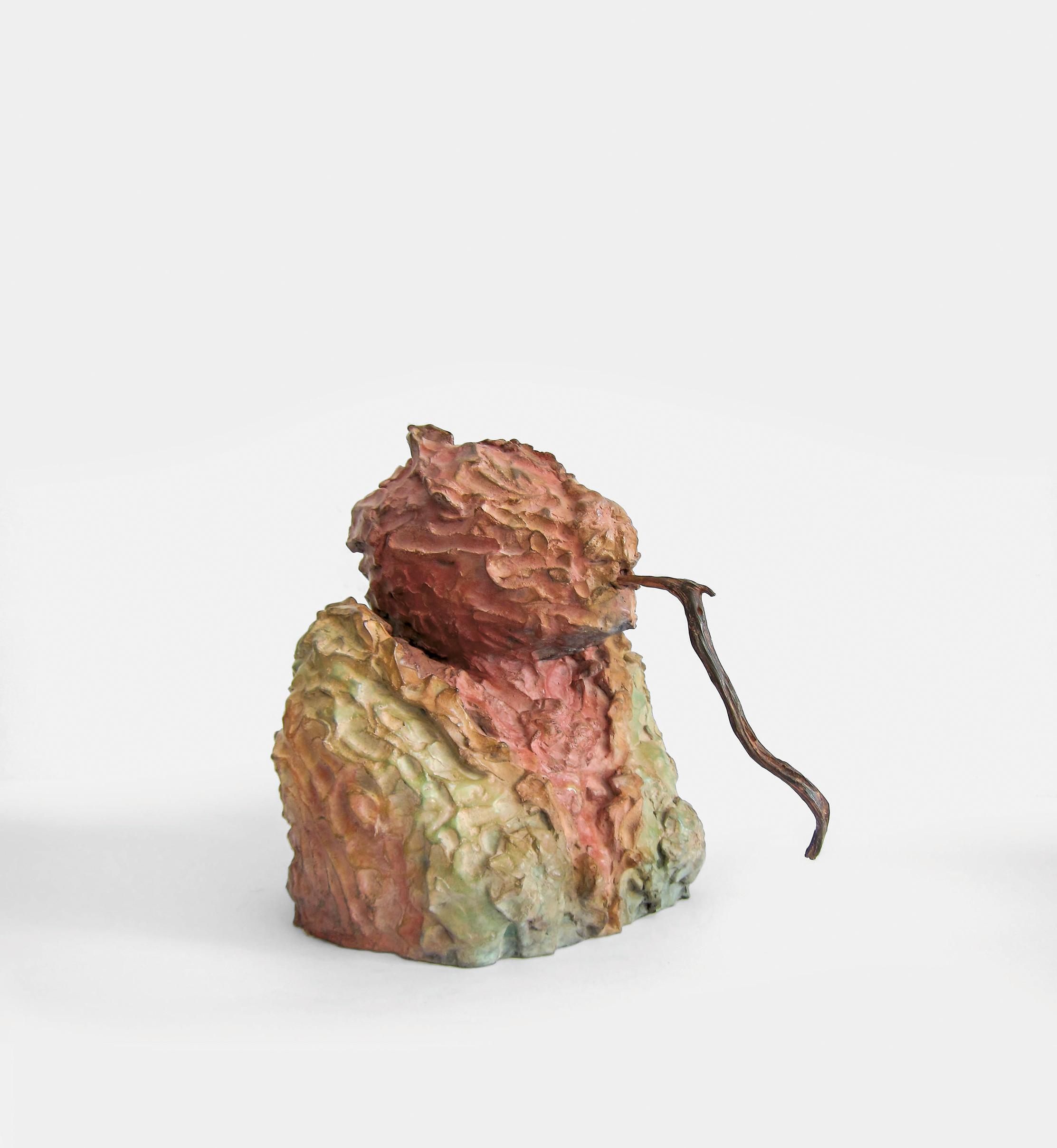 sein (mit Stock),  2009, bronze, 39 × 39 × 42 cm (15.35 × 15.35 × 16.53 in) © Jonny Star, Photo: Jonny Star