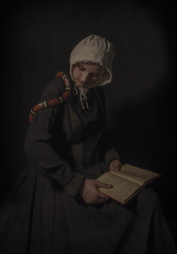 "The Reader , 20"" × 16"", pigment print, 2015"