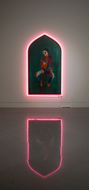 Taravat Talepasand ,  Westoxicated , 2015–18, installation view,  Bay Area Now 8 , Yerba Buena Center for the Arts, San Francisco, 2018. Courtesy Yerba Buena Center for the Arts. Photograph by John Foster Cartwright.