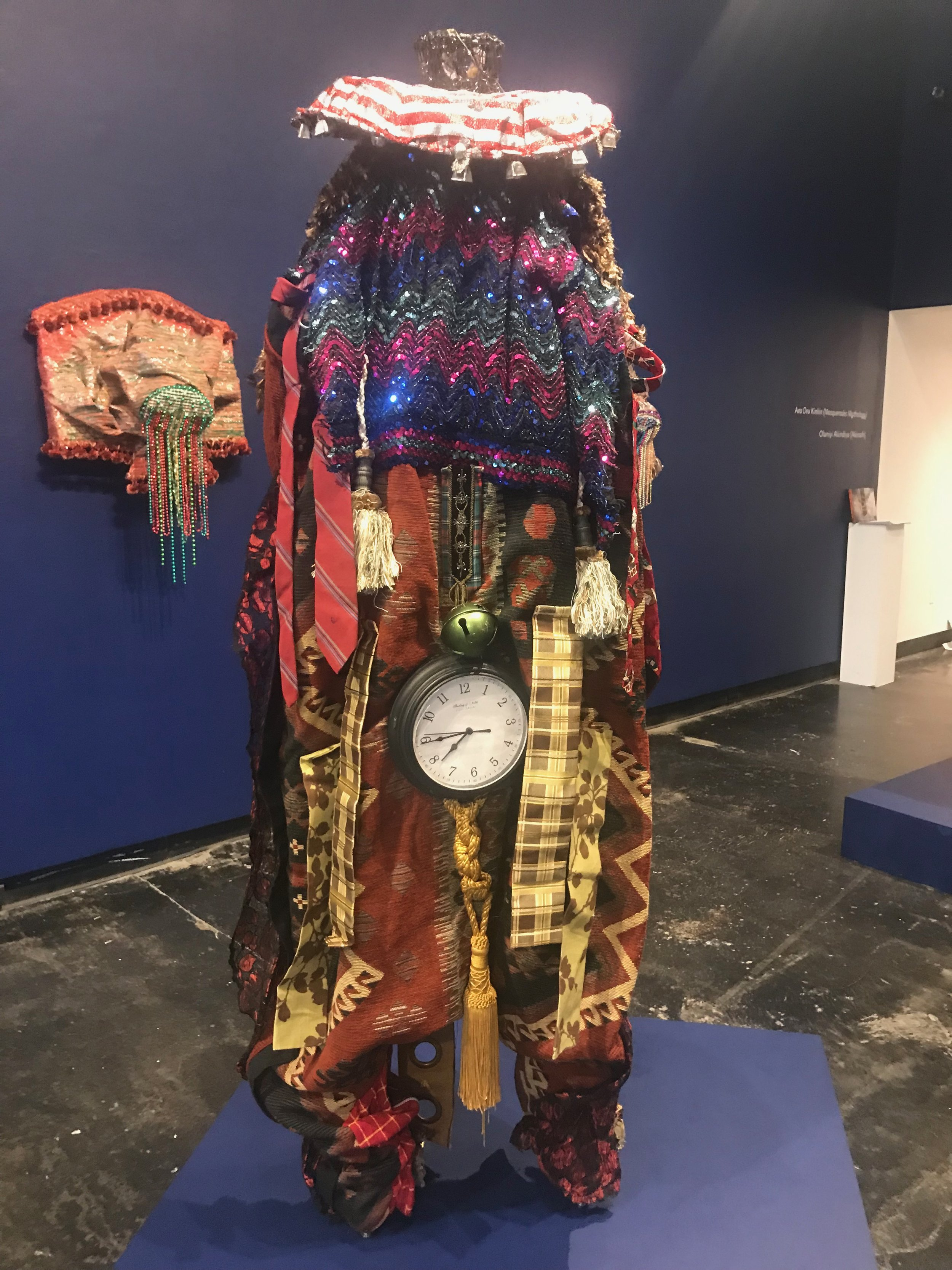 Ara Oru Kinkin (Masquerades Mythology) , Installation View, Lawndale Art Center