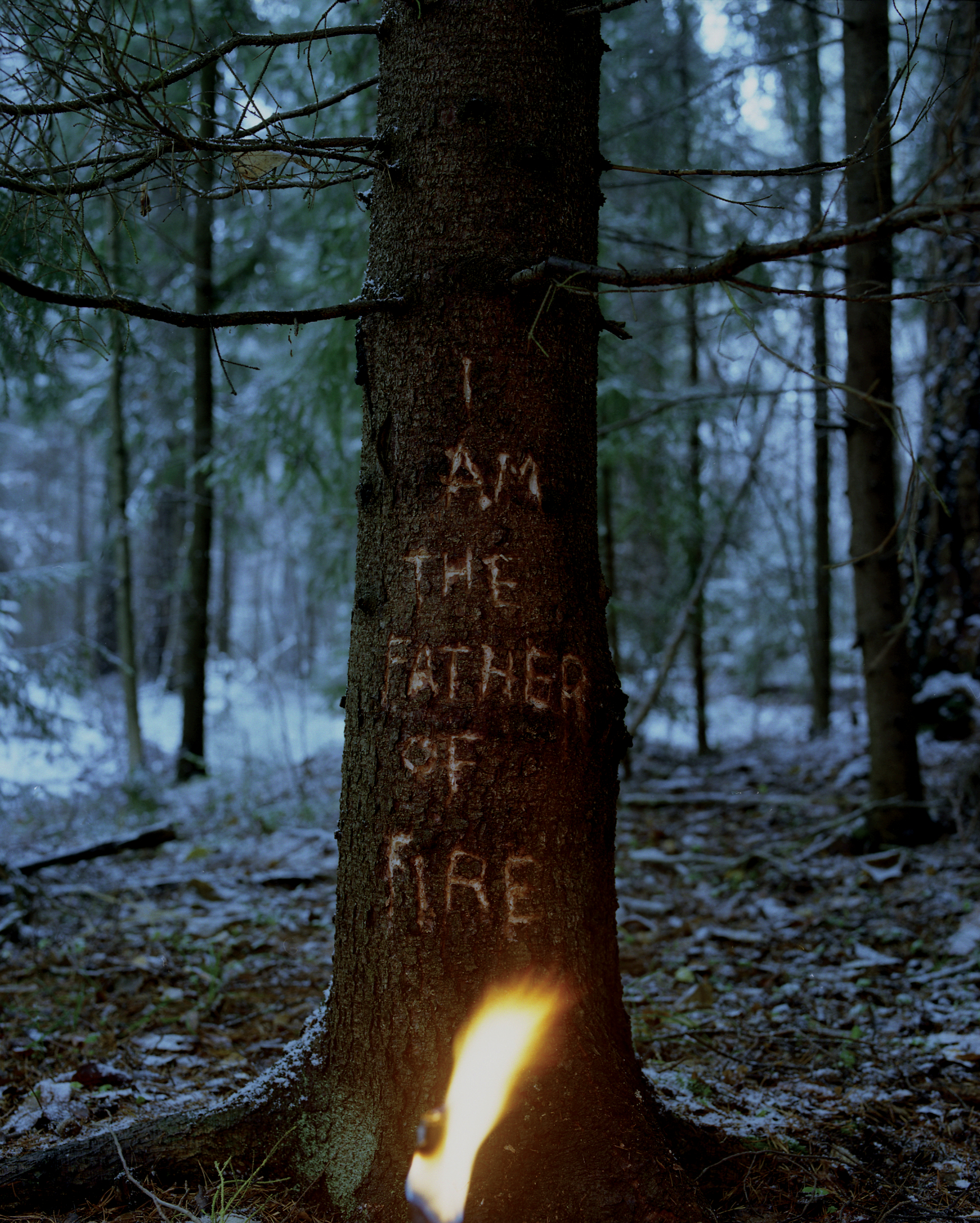 """""""I am the Father of Fire"""", 2012, 65 x 80cm, C-print, Ed: 4 + 2ap."""