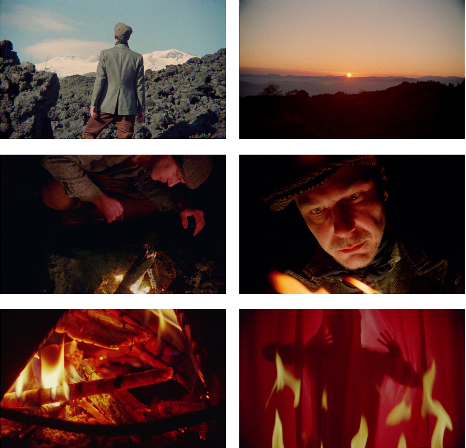 """Still Images from """"The Flame that Dreams"""", 2013, 16mm film transferred to HD video, 24:30 min"""