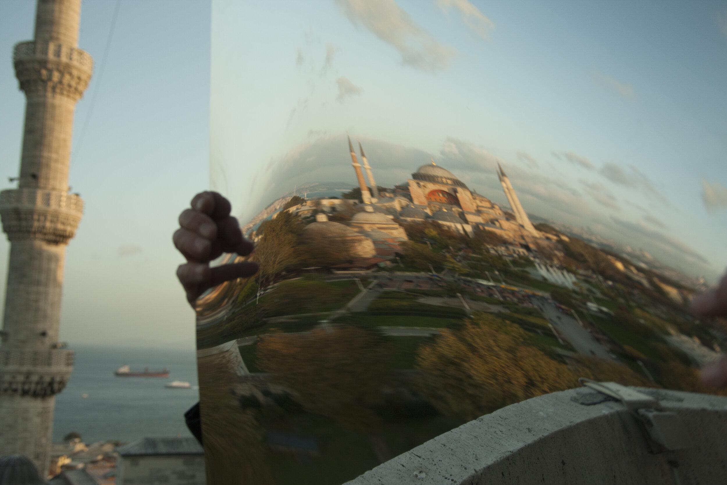 Reflexion City , Istanbul Hagia Sofia 01, Gyclee print, Variable sizes, 2010