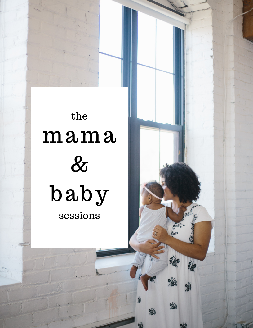 mama and baby session cover