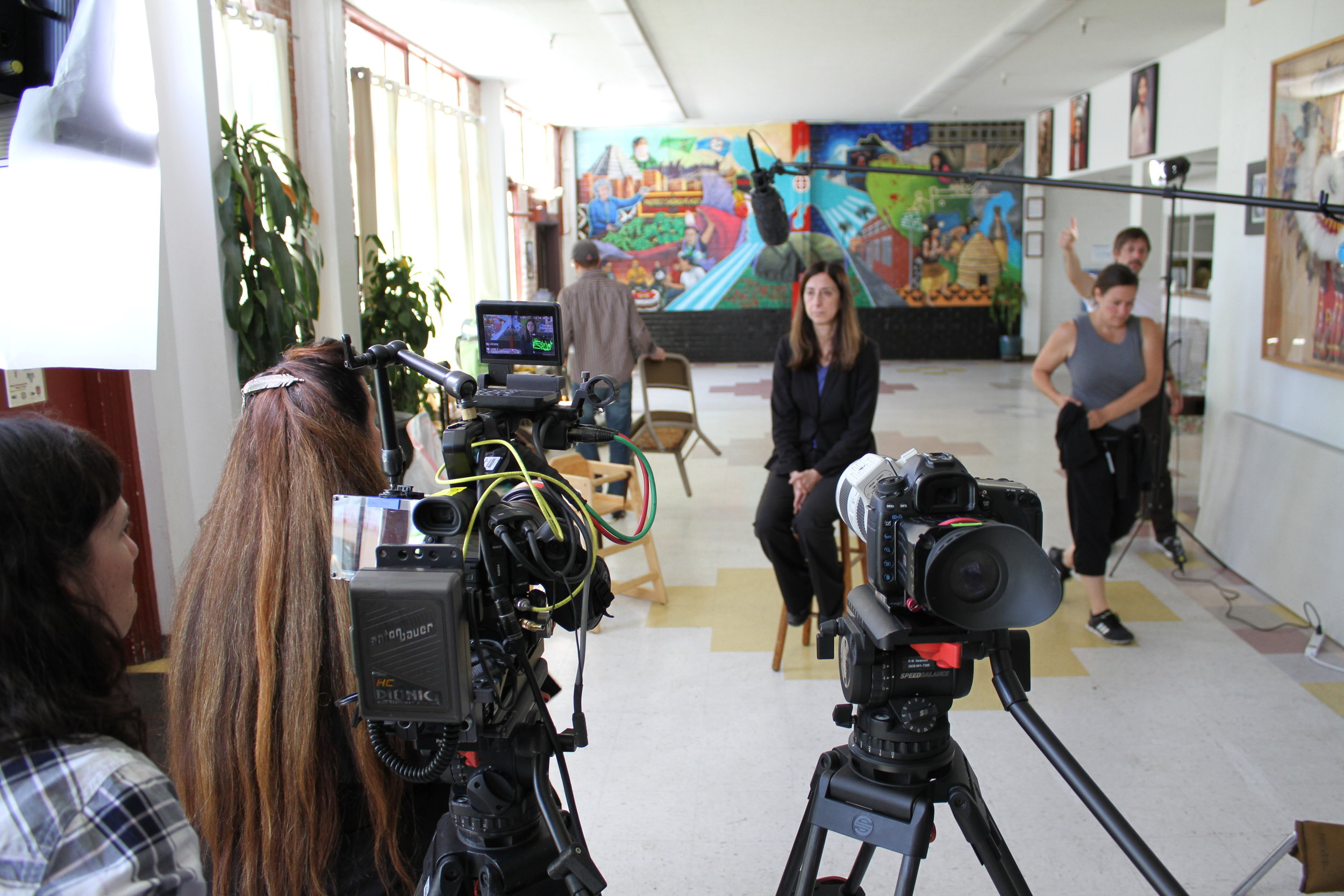 On location at the Intertribal Friendship House in Oakland, CA the Mankiller crew interviews Mary Smith