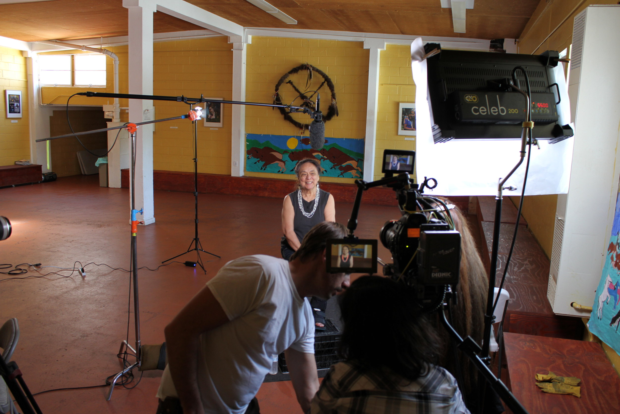 On location at the Intertribal Friendship House in Oakland, CA the Mankiller crew interviews Betty Parent