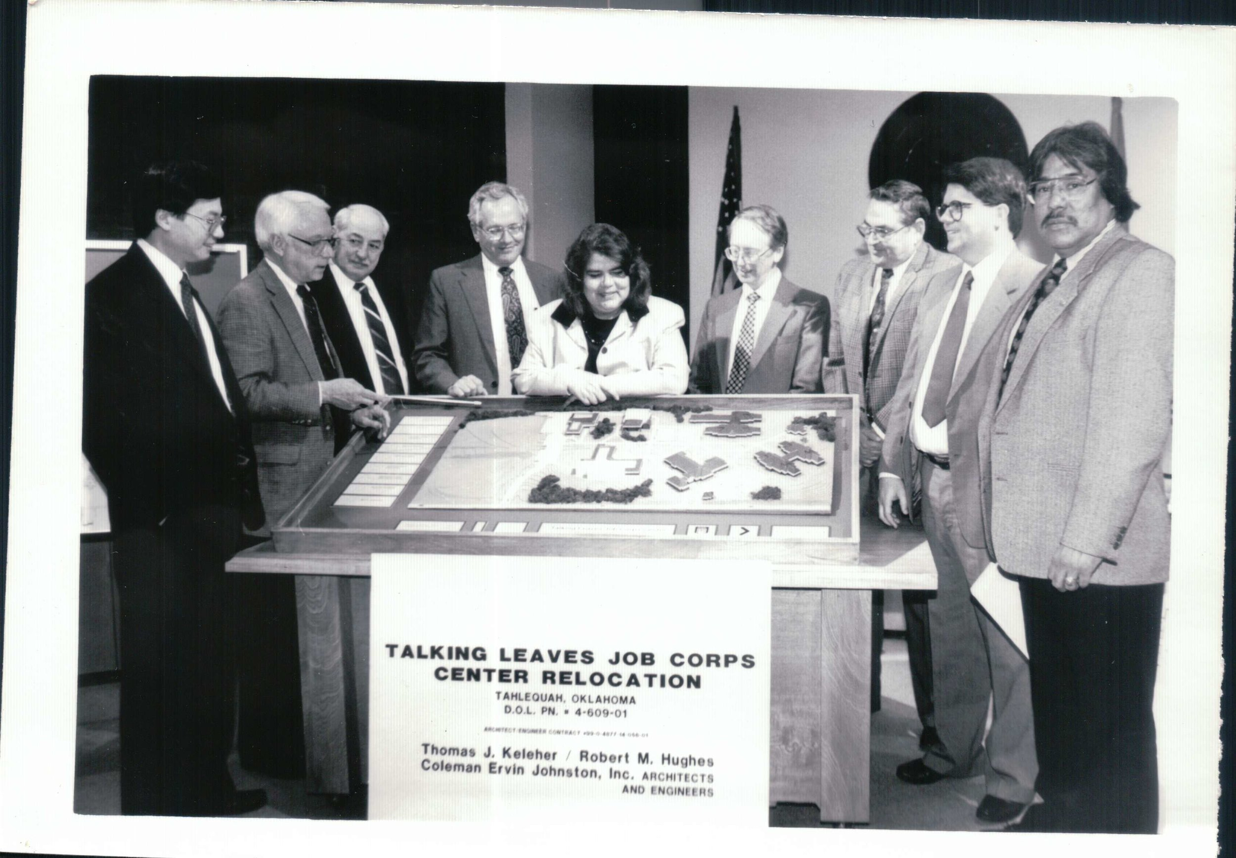 Wilma Mankiller at the Talking Leaves Job Corps