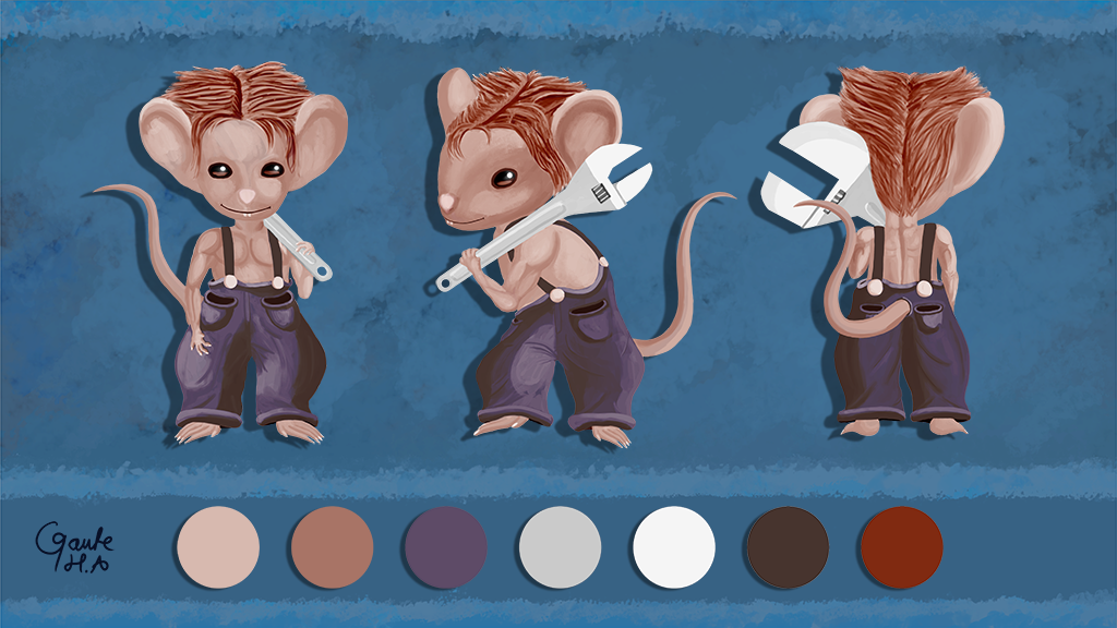 Mouse Mechanic (Character Design)
