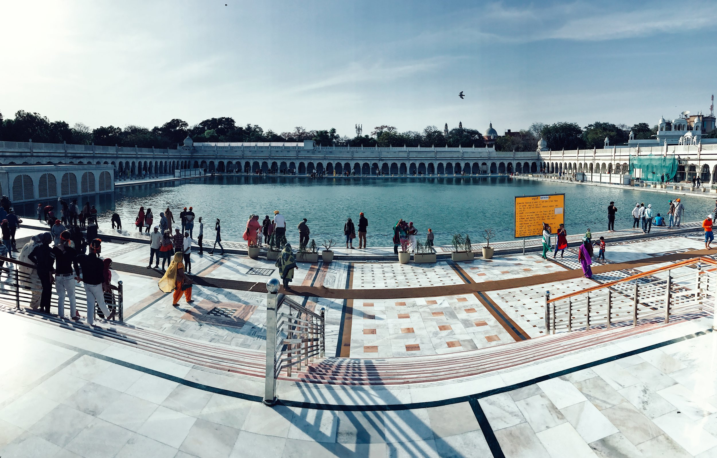 Gurudwara Bangla Sahib - Sikh temple in Delhi
