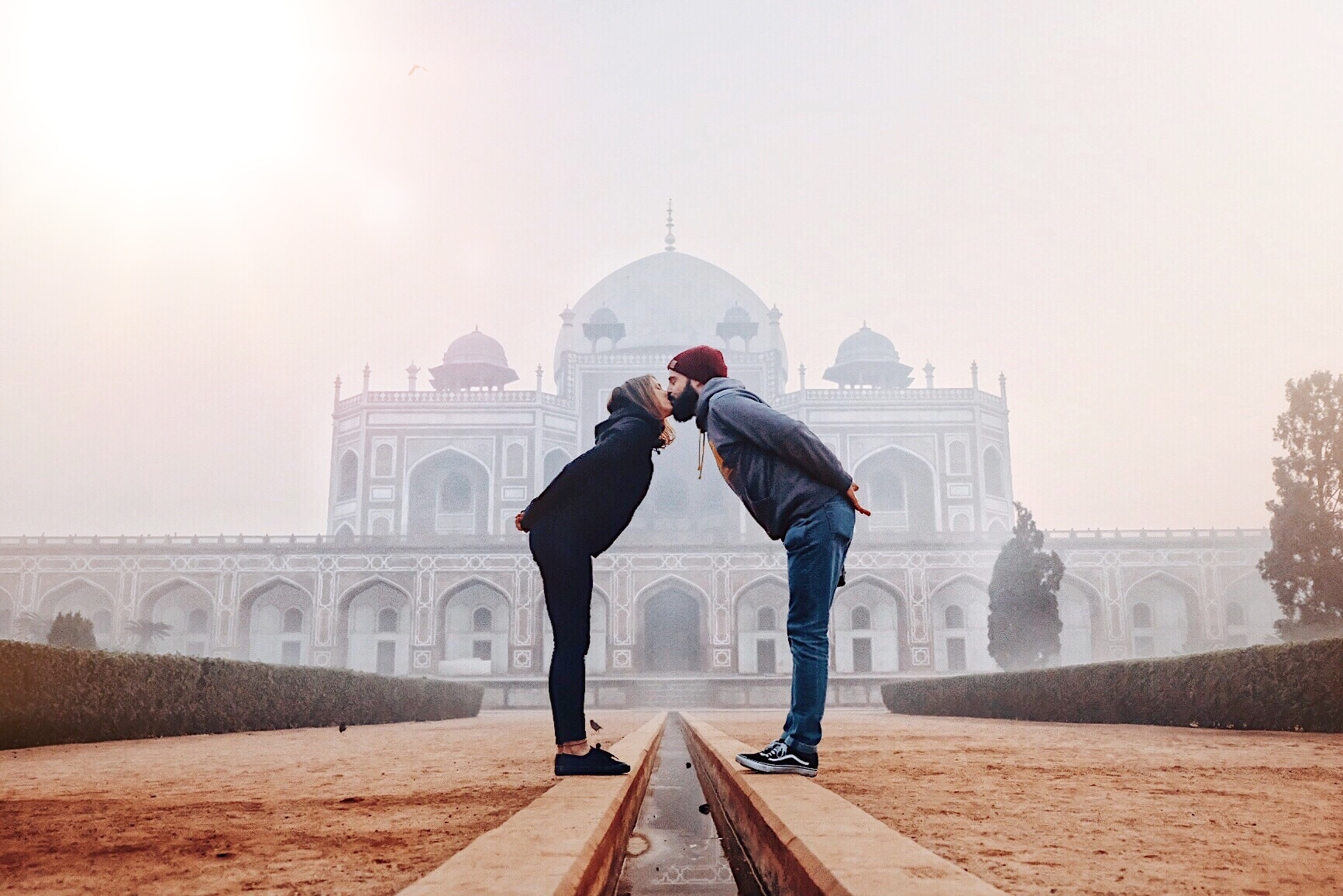 A quick stop in Delhi at the Humayun Tomb