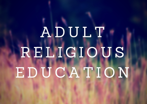 Is there Sunday school for adults?  Adult Religious Education is held from 3 pm to 4 pm. Topics generally relate to social justice issues