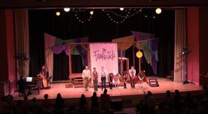 August 2018- Closed The Fantasticks at Bucks County Center for the Performing Arts