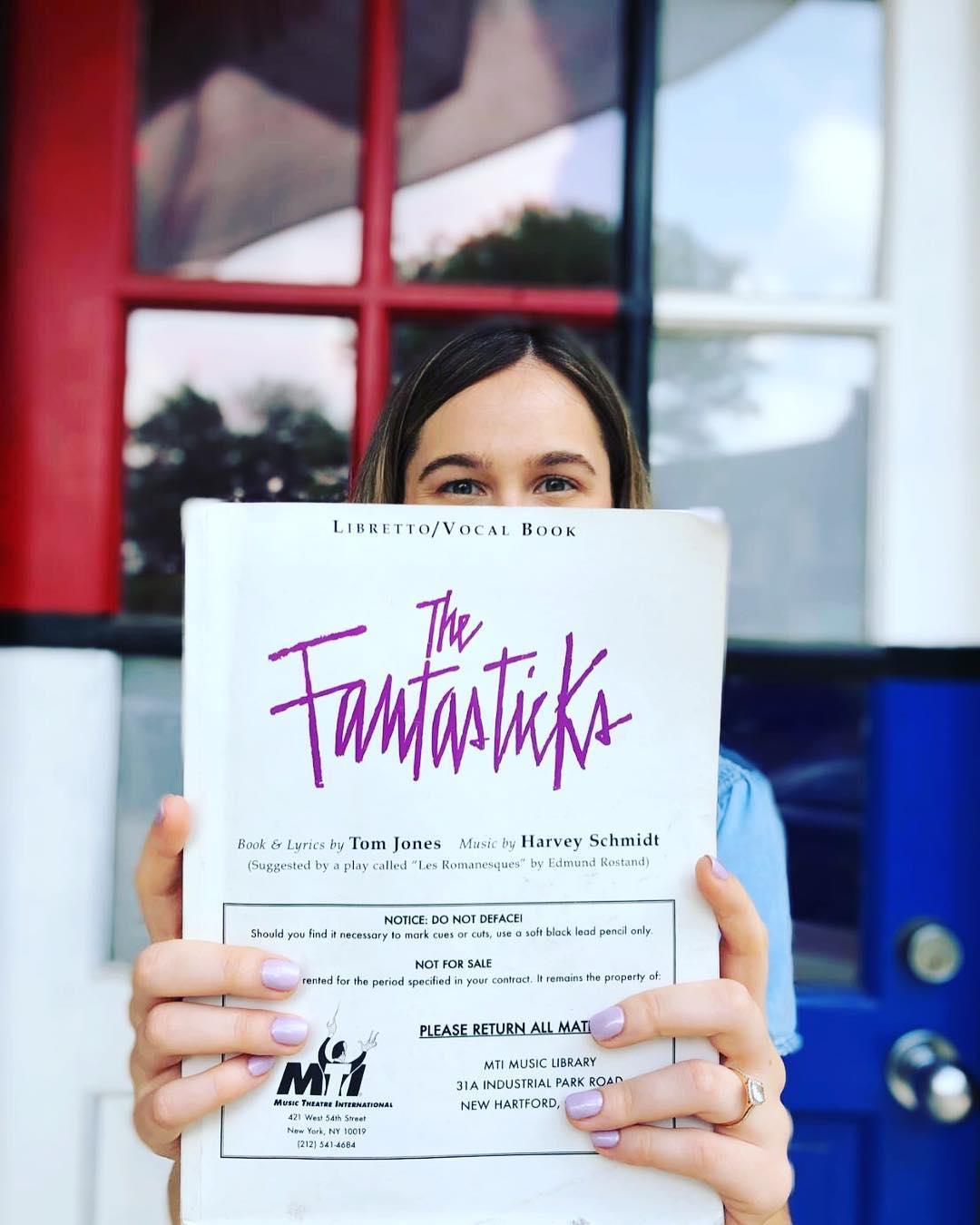 Booked Luisa For the Fantasticks