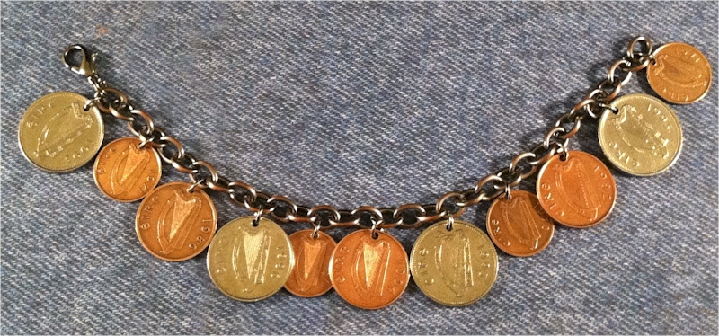 Irish Pence Bracelet