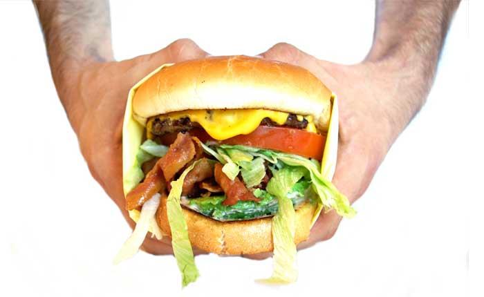 LuckyBoy Cheese Burger