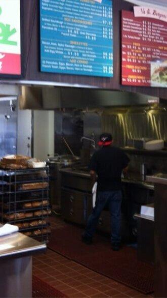 Interior Kitchen Area