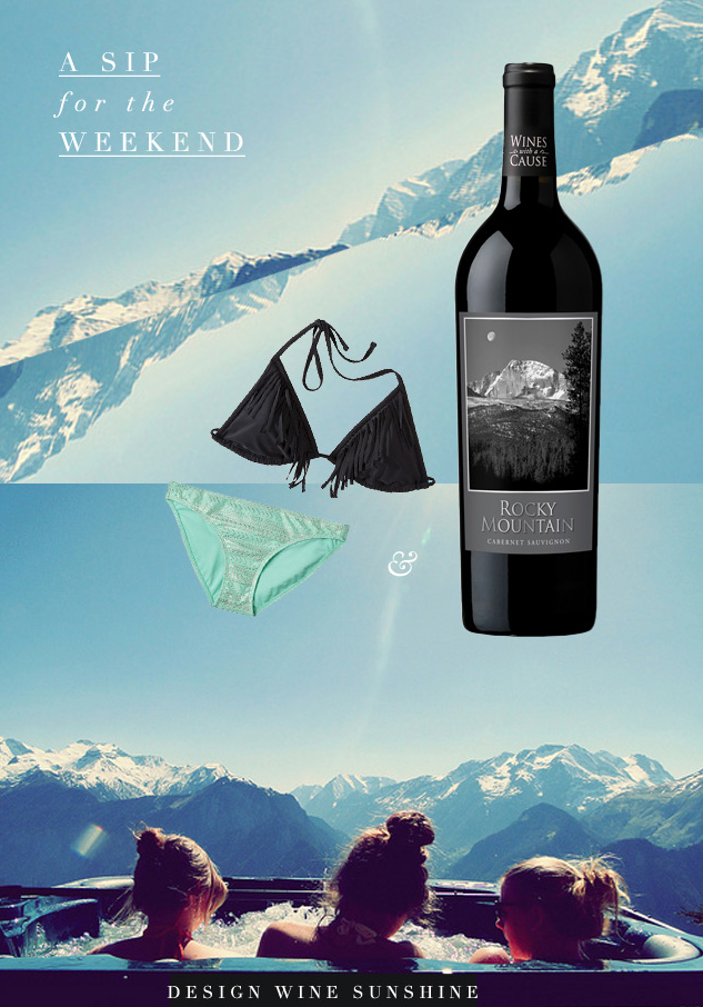 Rocky Mountain Cabernet - A Sip for the Weekend - Design Wine Sunshine