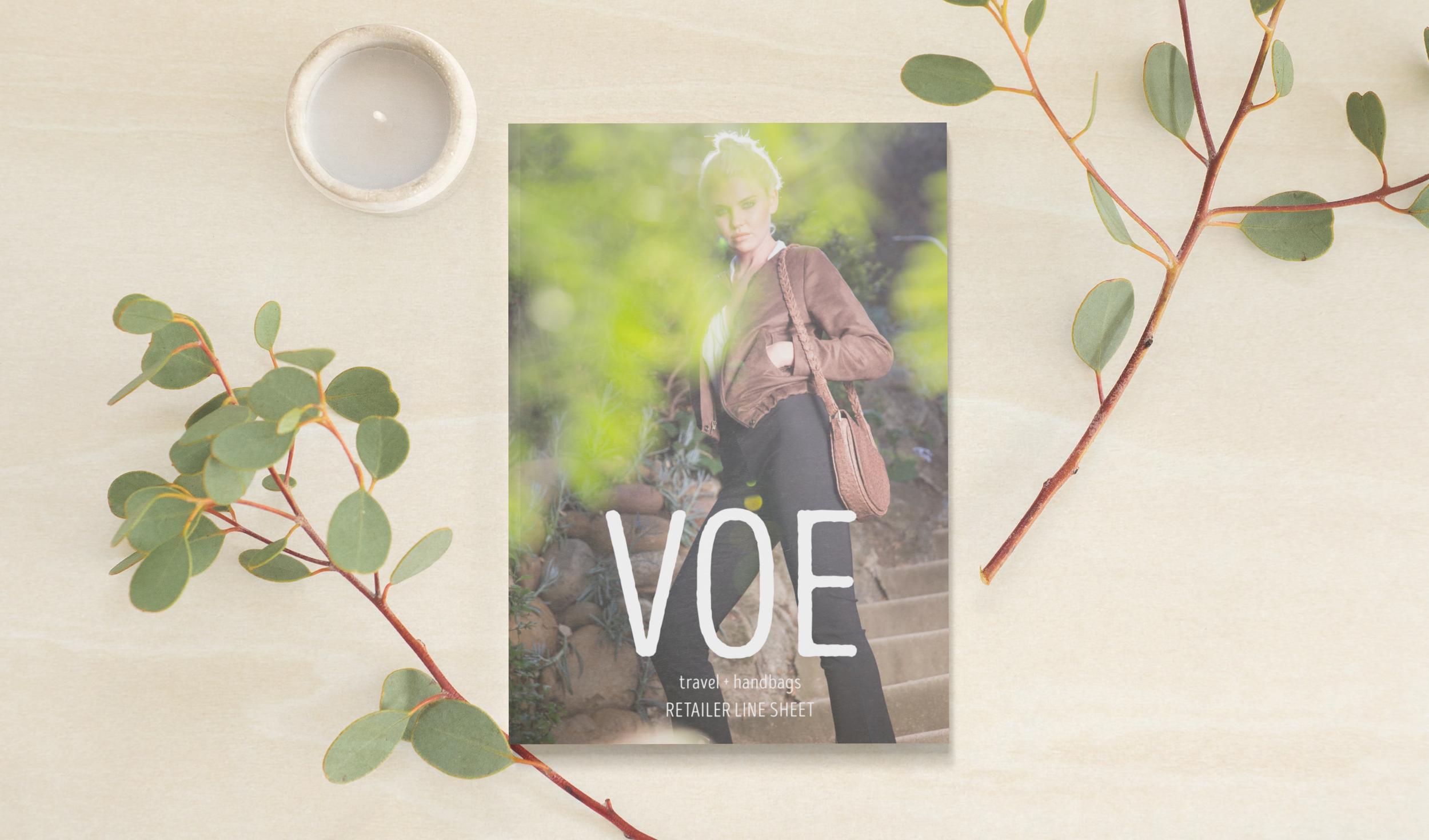 Voe Cover Line Sheet - Courtney Oliver Freelance Design