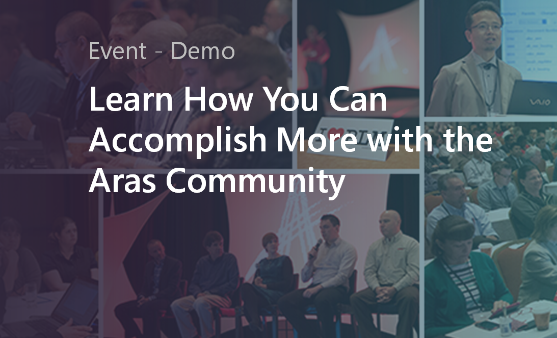 Aras Community Demo.png