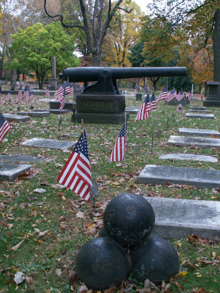 G.A.R. Plot - Nisky Hill Cemetery, Bethlehem, PA