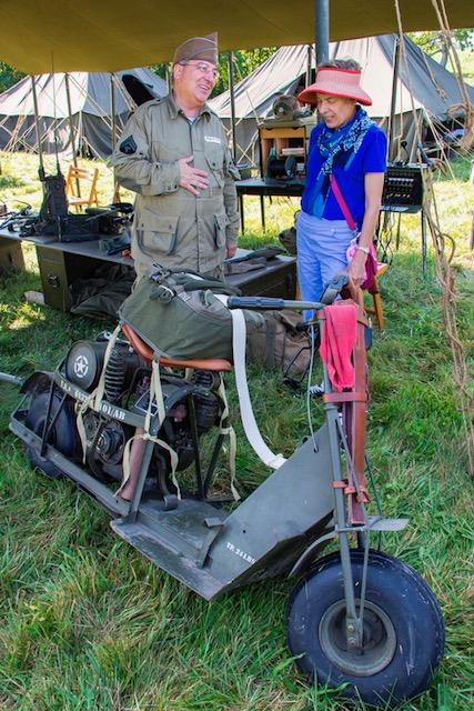 WWII weekend at Eisenhower NHS 2017 vintage motorcycle.jpg