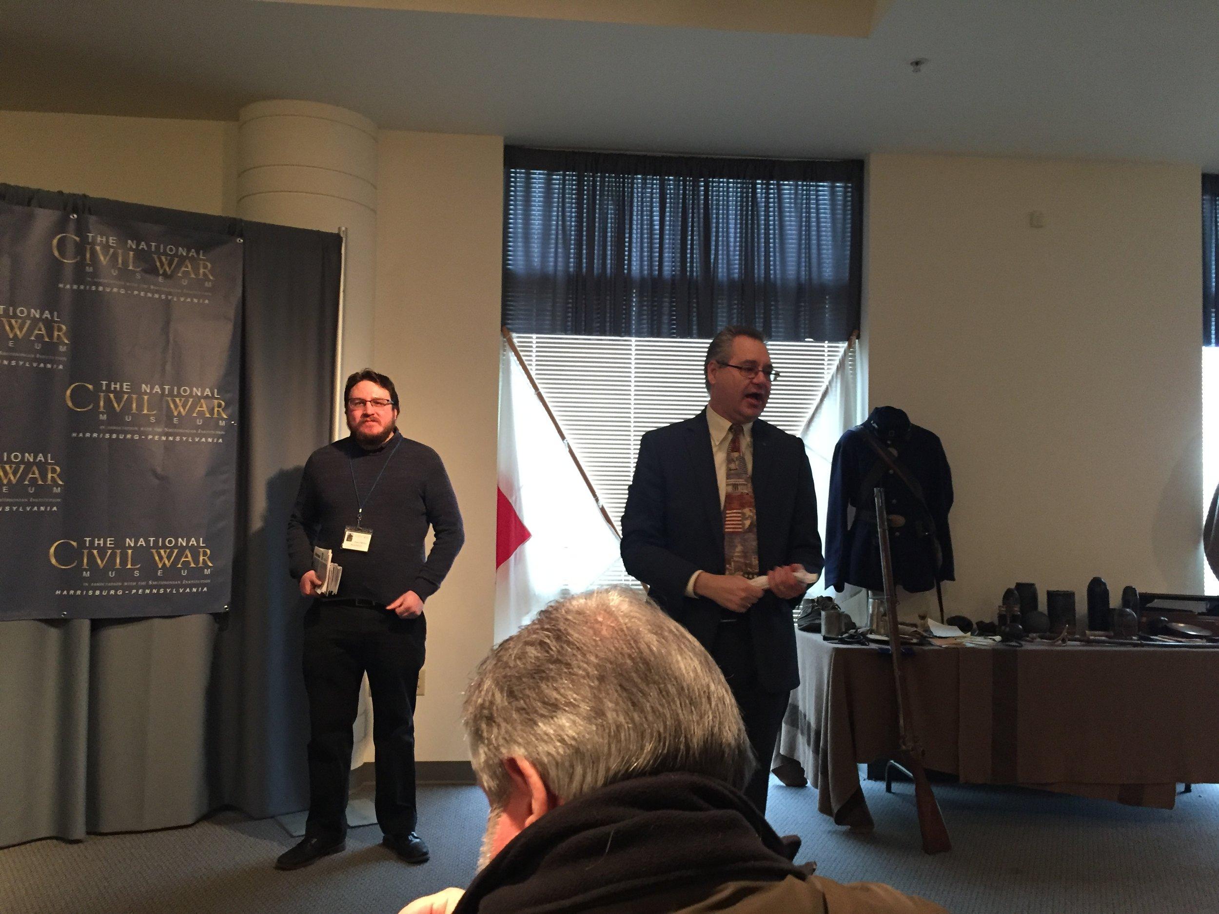 Educator Dane DiFibo and CEO Wayne Motts