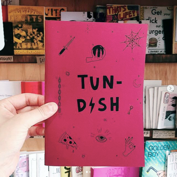 Tundish Review   Tundish Review is a Brisbane-based poetry zine, featuring local contributors.