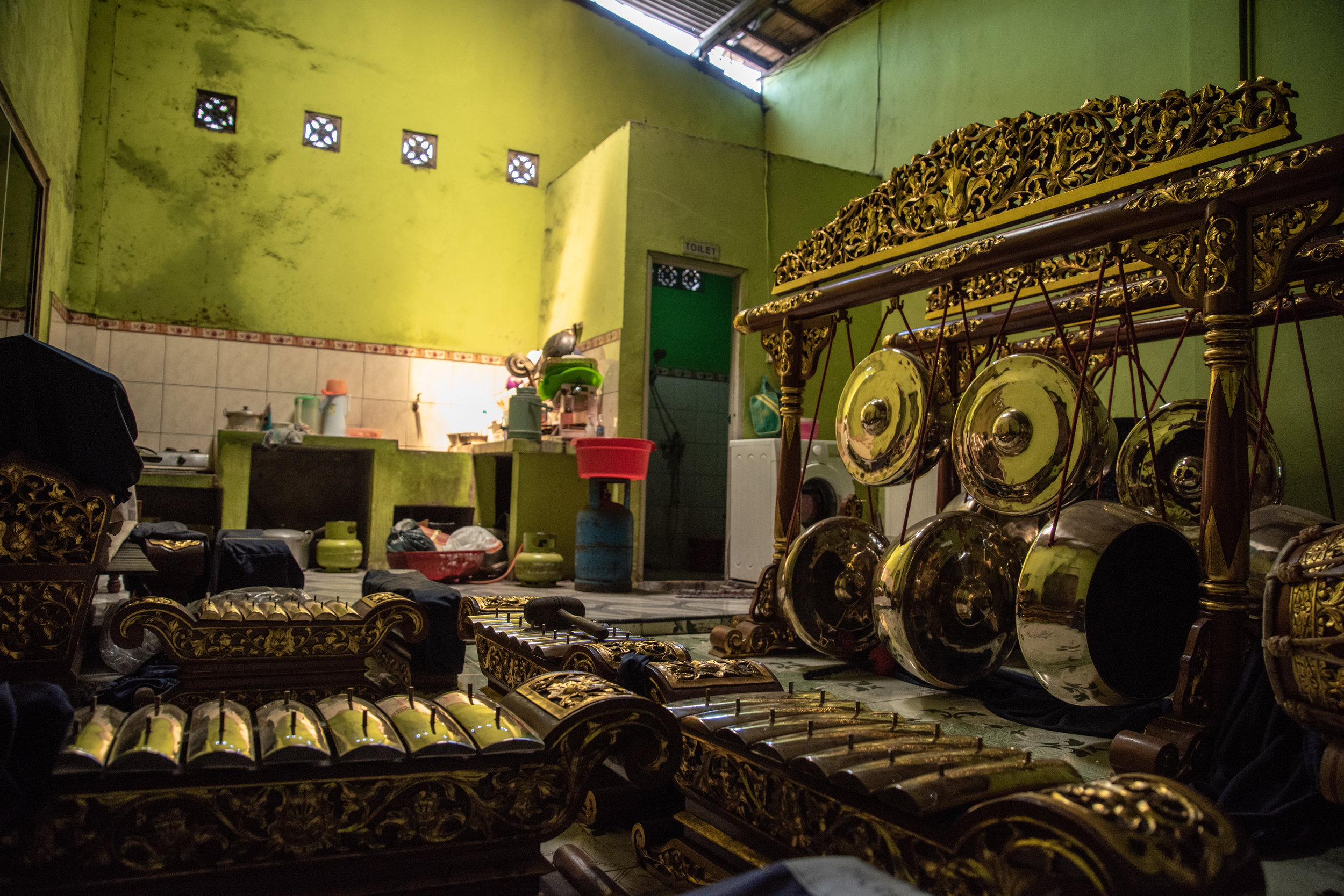 Full gamelan orchestra made to order, usually taking 1-2 months to complete