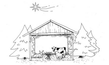 What the Nativity scene would look like without Muslims, Arabs, Africans, Jews or Refugees.