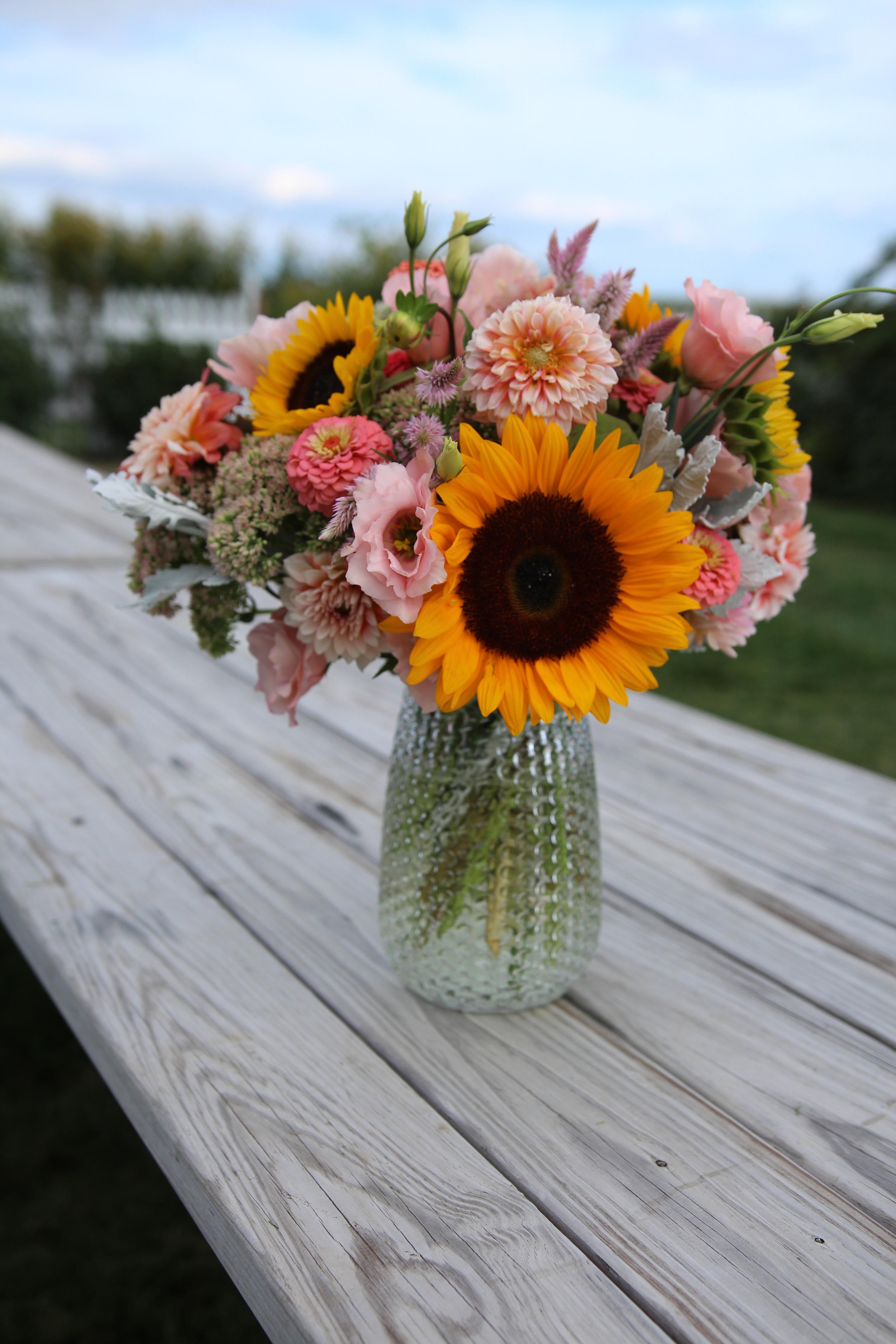 Sunflower Arrangement - Peterson.JPG