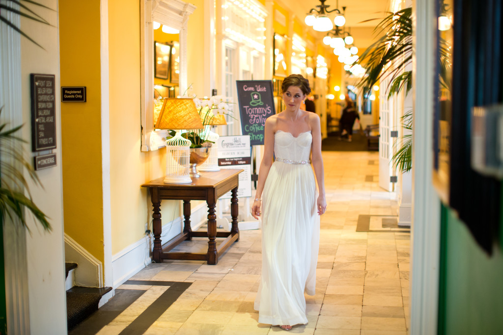 Cape May Wedding Florist - A Garden Party florist - Doyle Dowdell Photography - Congress Hall - spring wedding - yellow wedding flowers