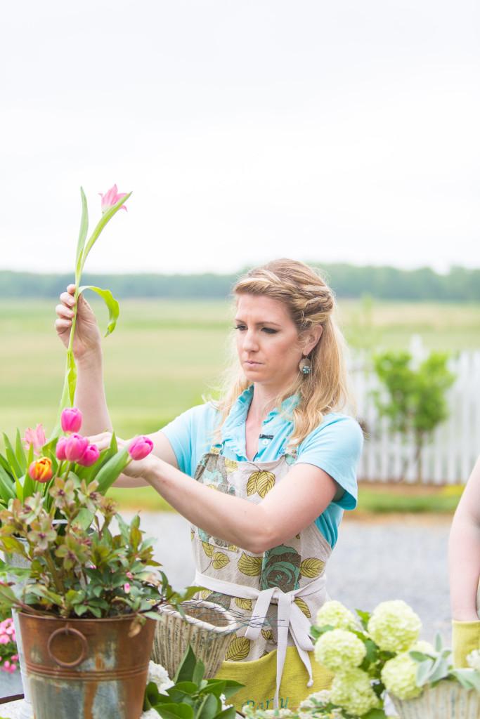 A Garden Party - Tami Melissa Photography - Your Day Your Way - Jennaphr Frederick - Fox29 News - Good Day Philadelphia - cutting garden - garden - dahlias - floral design