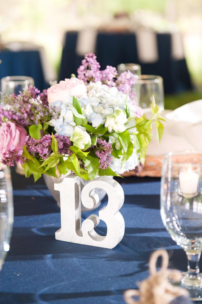 A Garden Party florist - Tina Jay Photography - Pratt Gardens - country wedding - rustic wedding - hydrangea - tulips - lavender - navy wedding