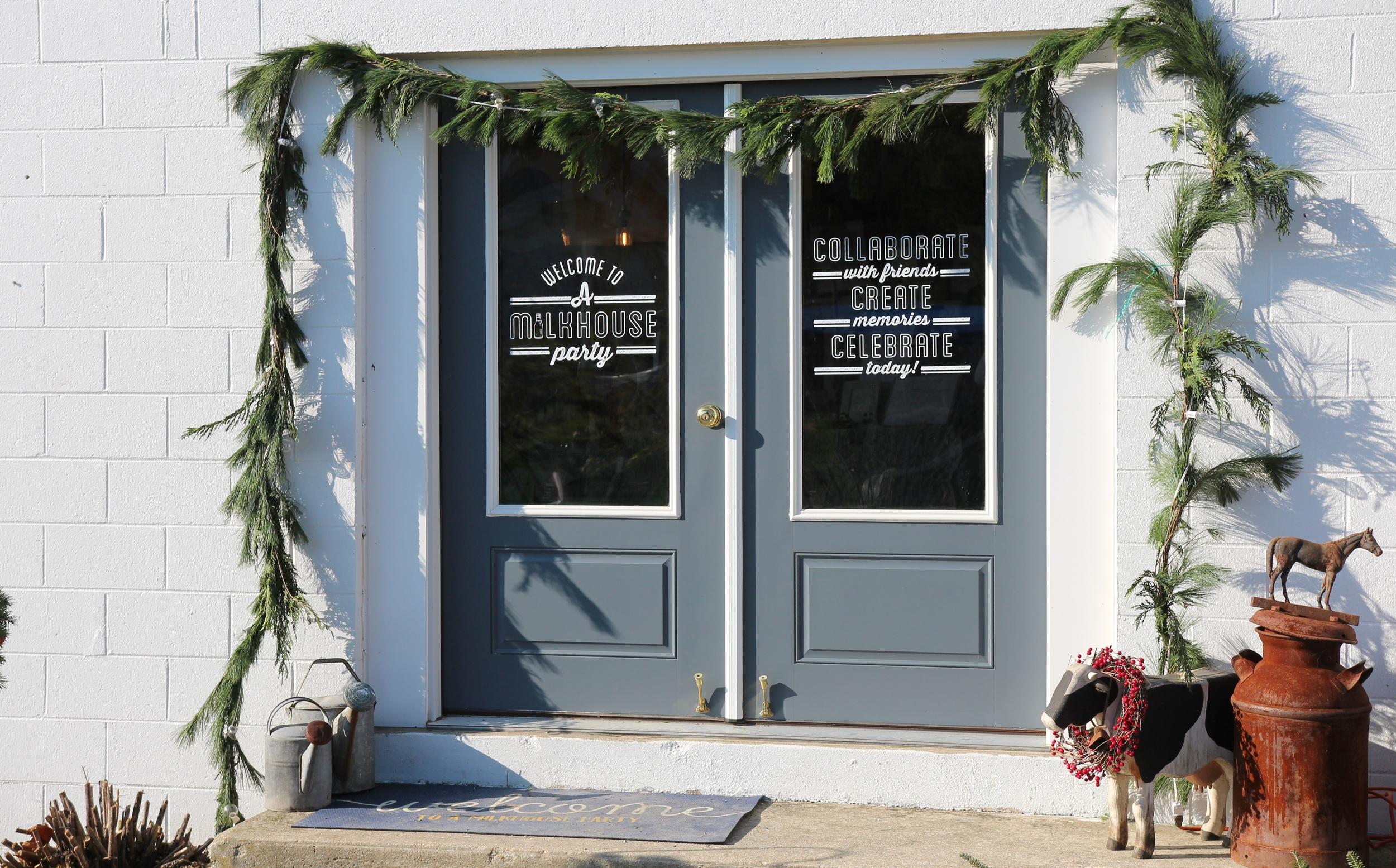 A Garden Party, A Milkhouse Party, Holiday Open House