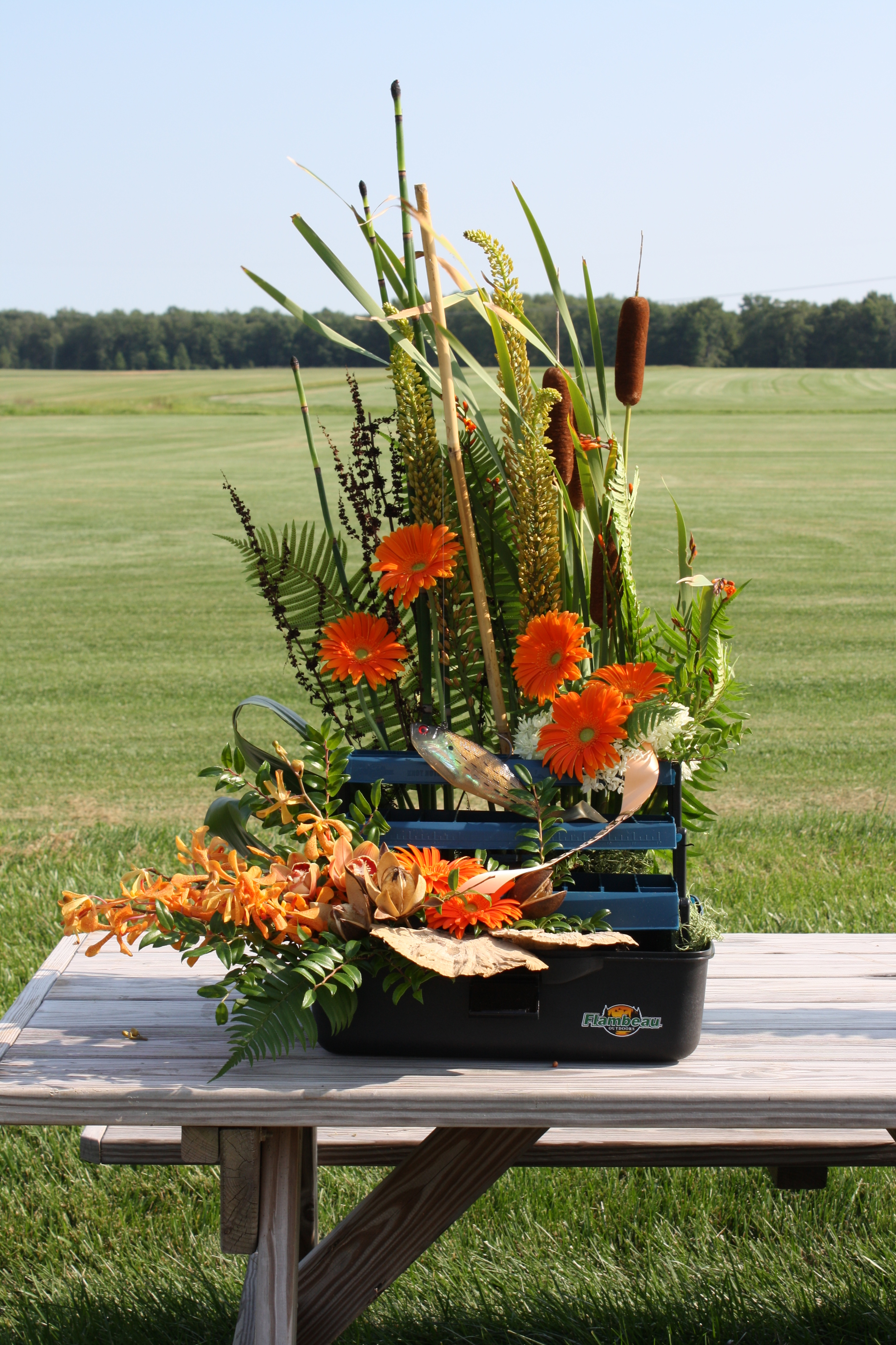 A Garden Party Florist, Sympathy Work, Fishing, Tackle Box