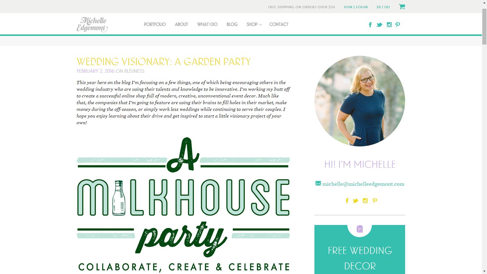 A Garden Party Florist, A Milkhouse Party, Tami & Ryan Photography, Michelle Edgemont