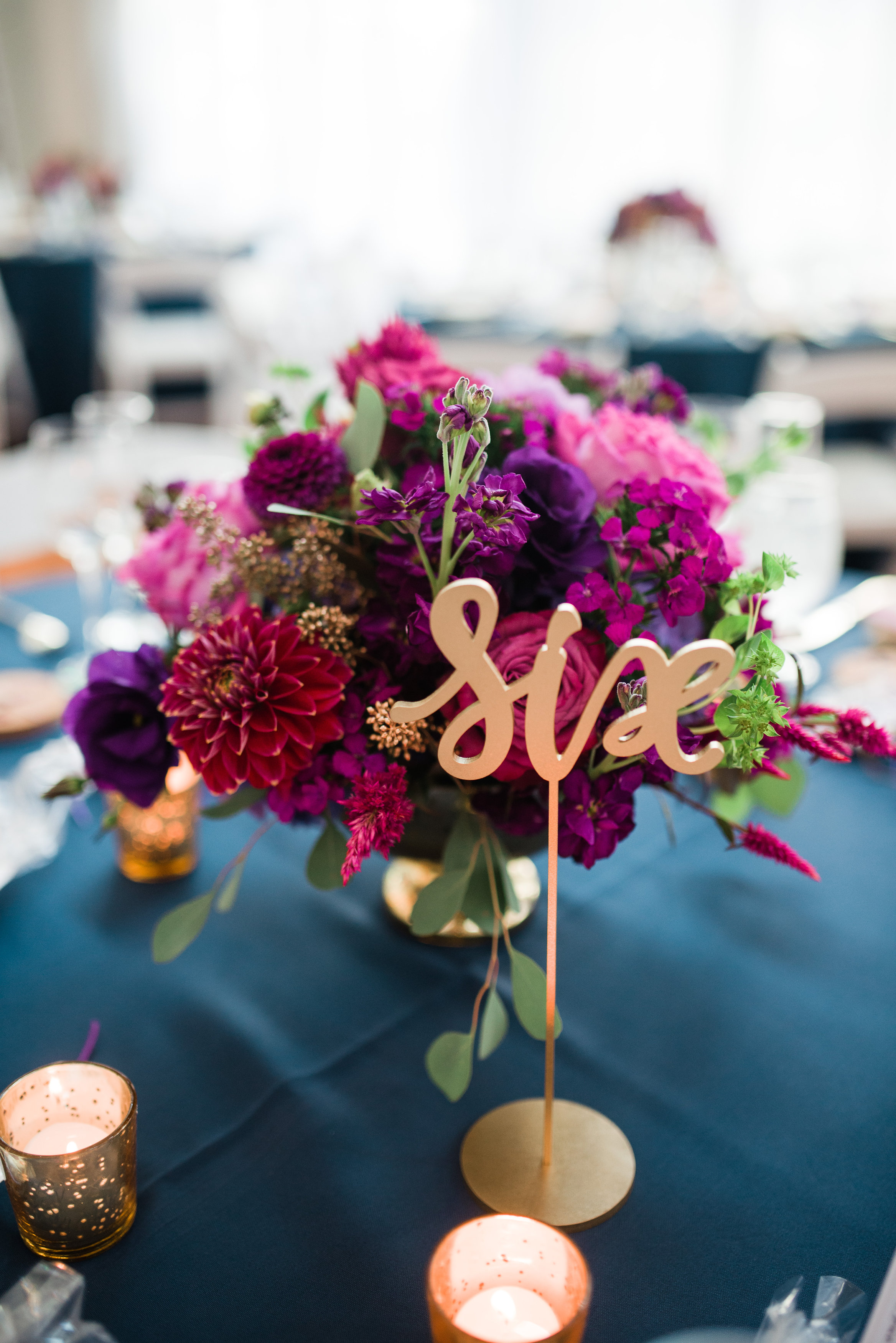 Philly Wedding, Philly Bride, Centerpiece, Rectangle Table, Head Table, Garland, Lavender Flowers, A Garden Party, Allison Dunn Photography