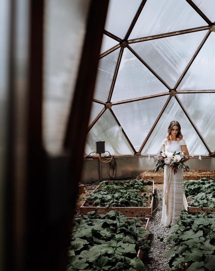 Rodale Institute greenhouse