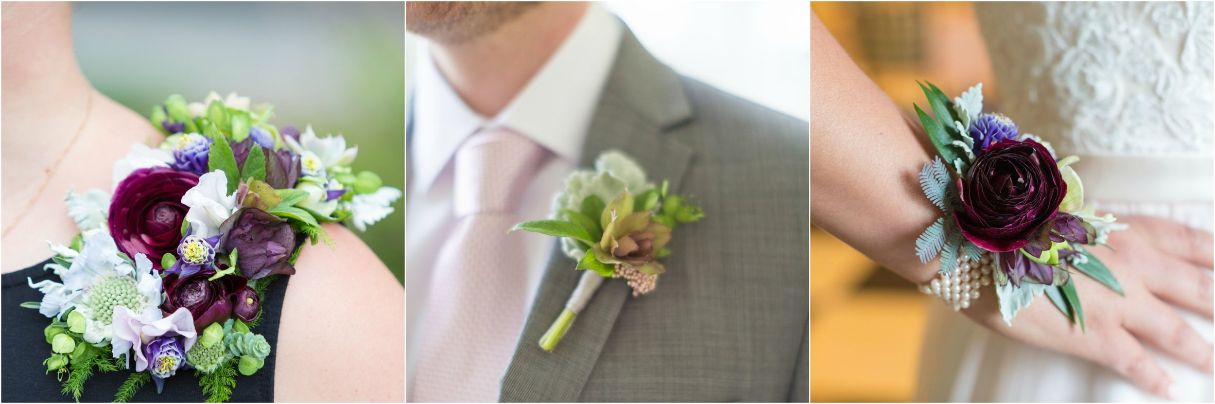 Floral Accessory inspiration by A Garden Party florist