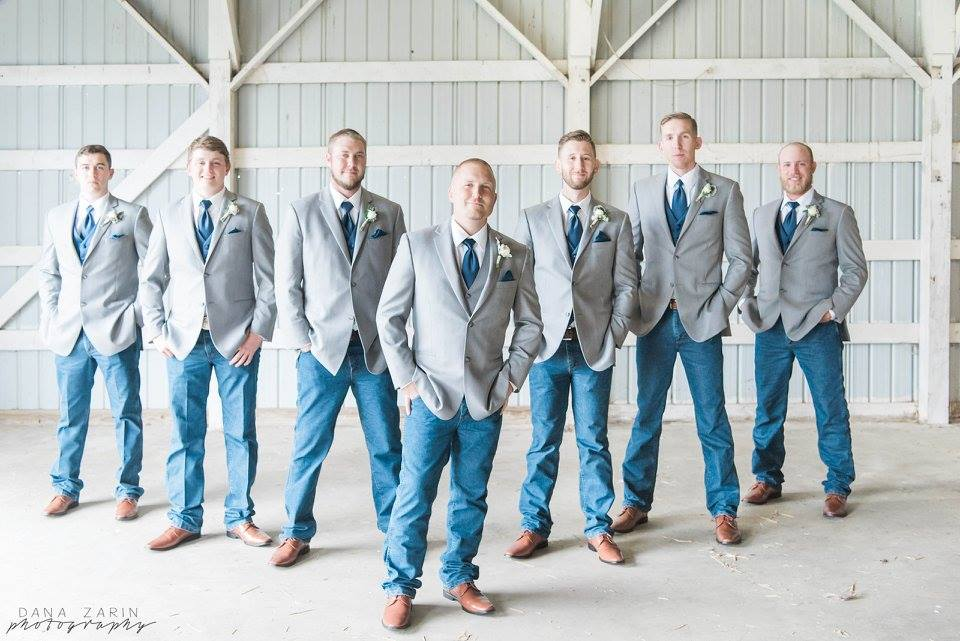 Remster wedding groomsmen