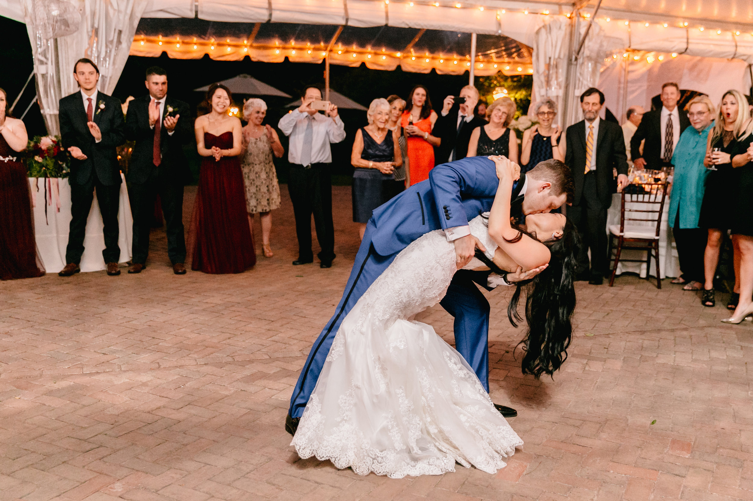 Sonia and Sam first dance