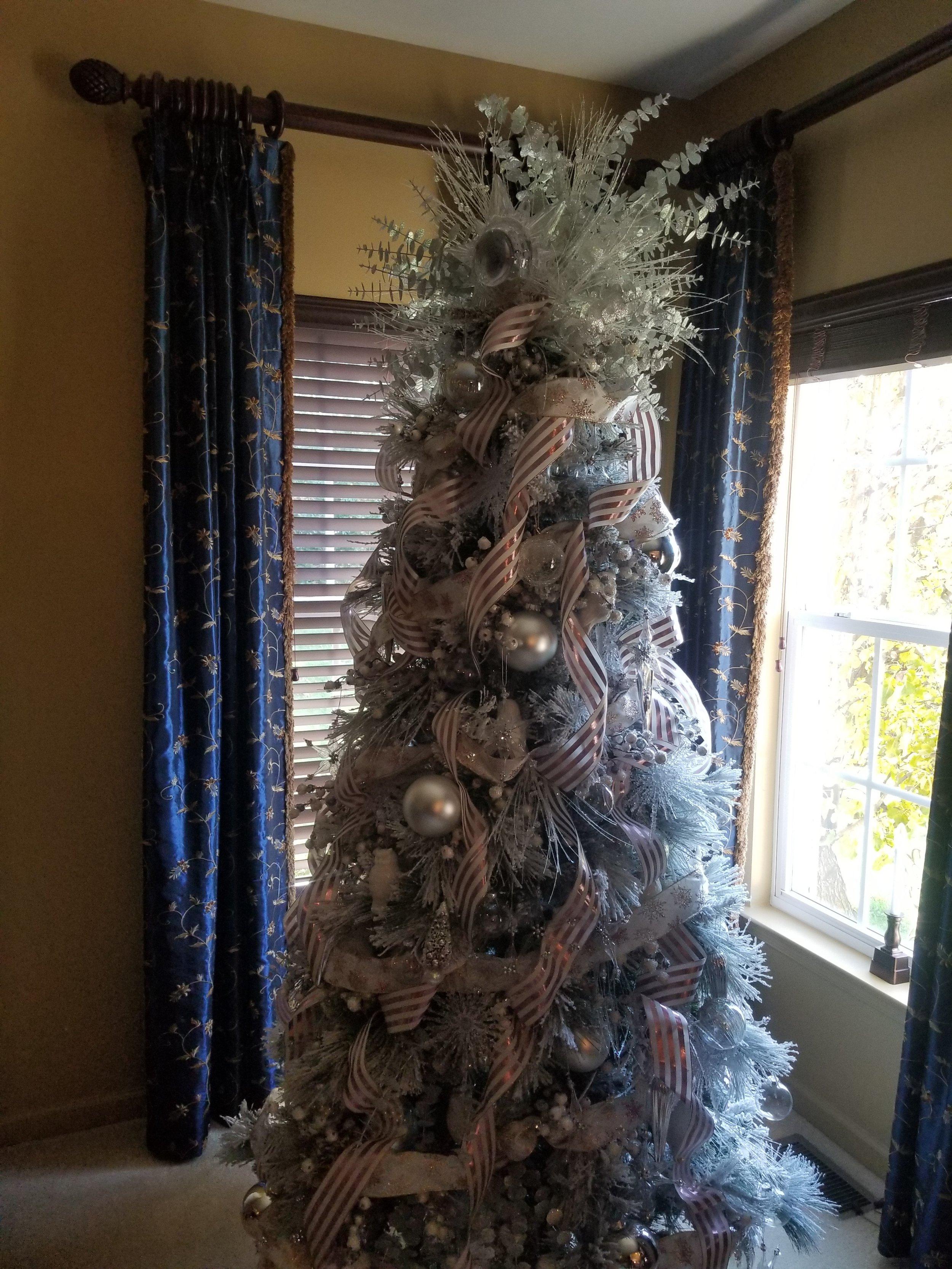 white woodland tree