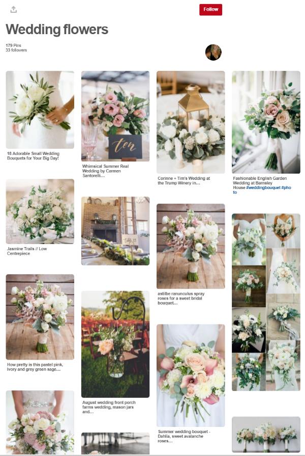 pinterest - wedding planning