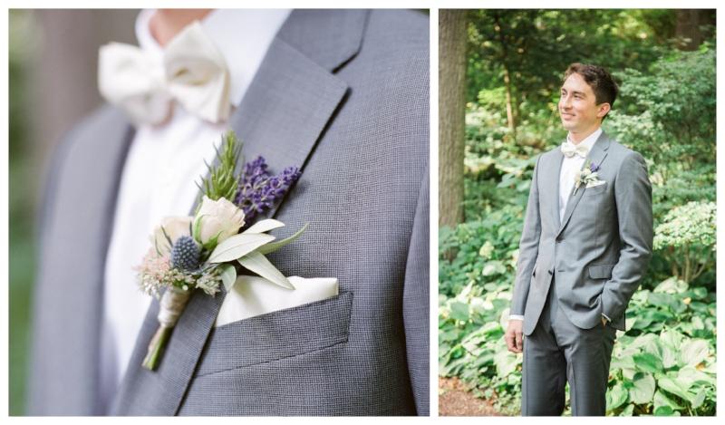 pastel groom bout
